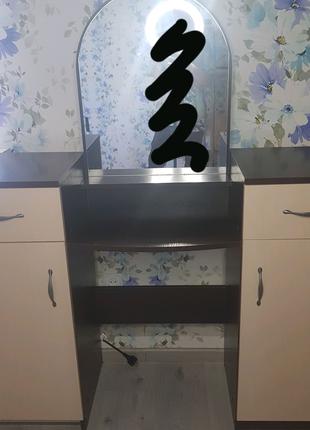 Туалетный столик с зеркалом|комод с зеркалом
