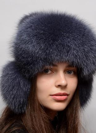 Женская меховая шапка