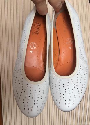 Немецкие кожаные туфли комфорт ara  jenny 41 {27-9.5} на широк...