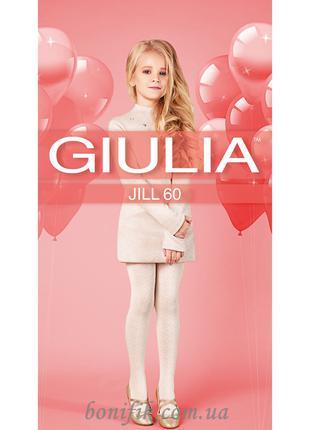 """Колготки для девочек с объёмным узором """"Ромб"""" JILL 60 (model 4)"""