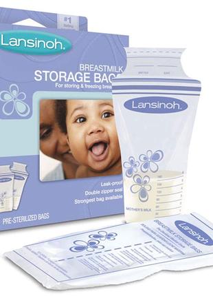 Пакеты для хранения и замораживания грудного молока Lansinoh, 20