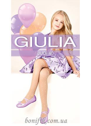 Капроновые колготки для девочек  с рисунком JUDI 40 (model 1)