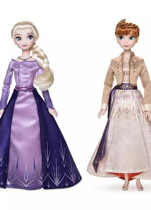 Кукла Эльза кукла Анна Холодное сердце 2 Дисней