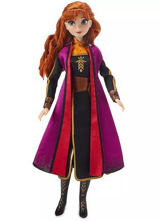 Поющая кукла Анна из мф Холодное сердце 2.