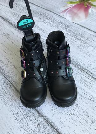 Крутые деми ботинки george размер 24-25{16,5см}