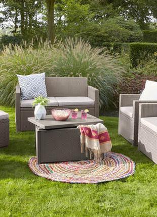 Комплект садовой мебели Allibert Keter Merano 6 Seater Set