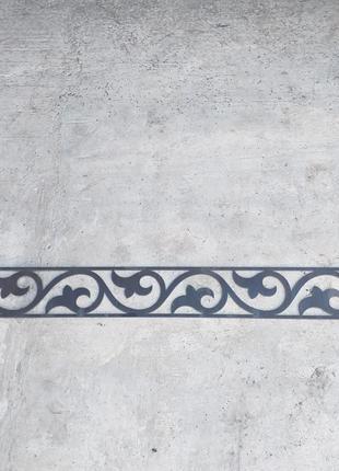 Мианрд №2, узор на ворота, декор-завитки