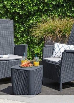 Комплект садовой мебели Allibert Vermont Luzon Balcony Set