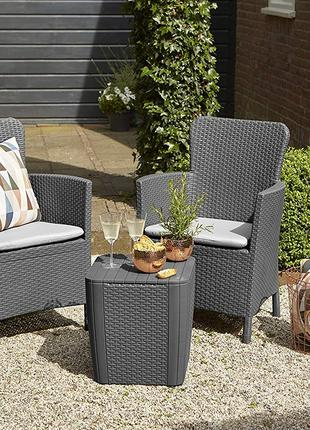 Комплект садовой мебели Allibert Miami Duo Set