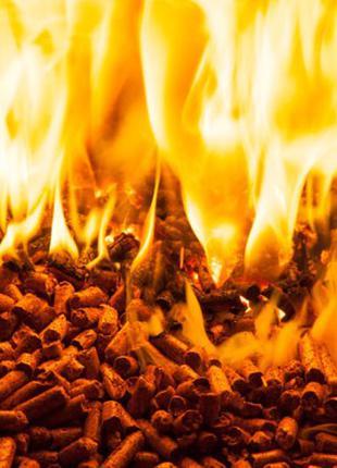 Топливные брикеты гранулы пеллеты для котла с доставкой