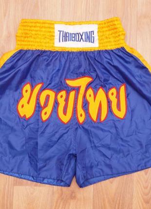 Шорты для тайского бокса Muay Thai муай тай Кикбоксинг