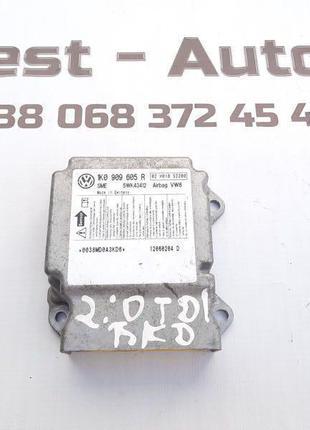 блок управління AIRBAG 1K0909605R Skoda Octavia A5 Шкода Октавія