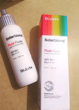 🔆 Солнцезащитный флюид DR. JART+ Solarbiome Fluid SPF50+ PA++++