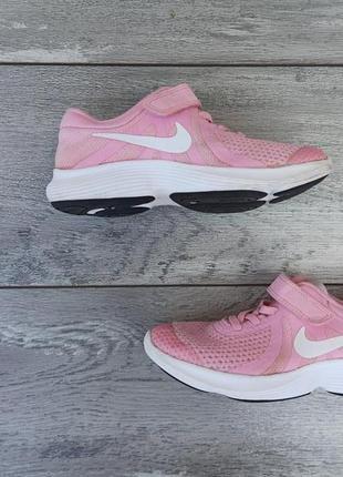 Nike детские кроссовки сетка шнуровка + липучка оригинал