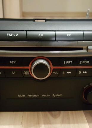 Штатная магнитола Mazda 3 bk