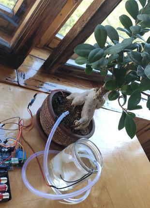 Автоматический полив для комнатных растений - набор Arduino