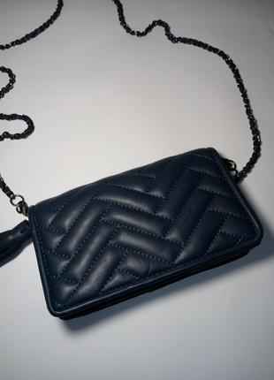 Клатч кошелек zara. со съемной цепочкой