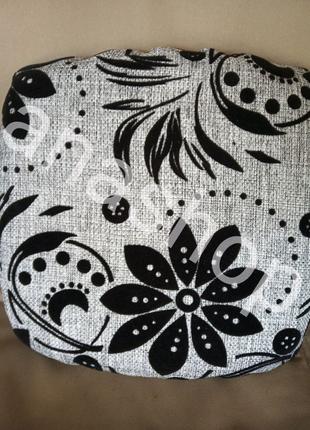 Чехлы на табурет с поролоном, комплект чехлов для табуретки 32*32