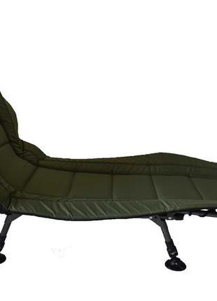 Раскладушка кресло карповая Vario Bad-1 компактная стальная