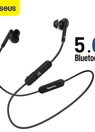 Bluetooth наушники Baseus Encok S30 с крутым звуком, микрофон,...