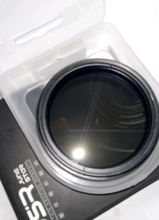 Фильтр ND переменный светофильтр нейтральный серый 49 мм