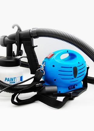 Краскораспылитель Paint Zoom, краскопульт электрический