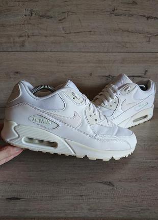 Легендарные белые кроссовки найк nike air max 90 essential 42,...