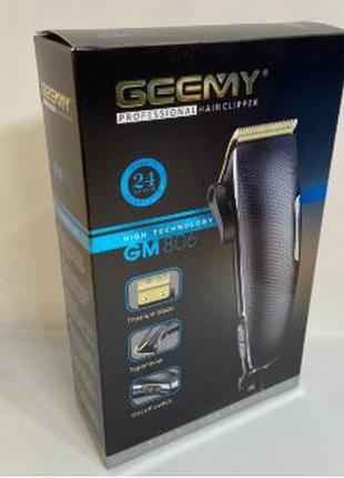 Сетевая профессиональная машинка для стрижки волос Geemy GM-806