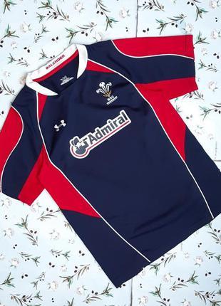🌿1+1=3 крутая мужская спортивная футболка under armour, размер...