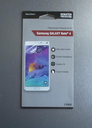 Защитная пленка WriteRight для Samsung Galaxy Note 4 N910