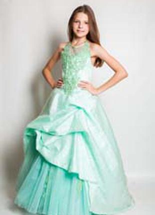 Продам шикарное подростковое платье