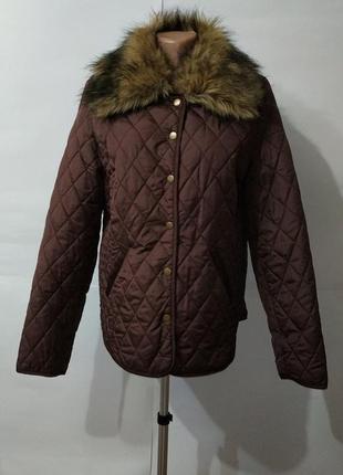 Стеганая легкая куртка на тонком синтепоне atmosphere uk 12/40/m