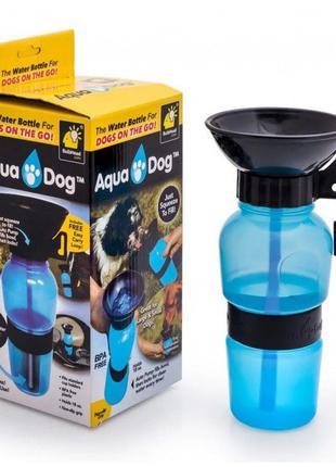 Портативная поилка NBZ Aqua Dog прогулочная бутылка для собак ...