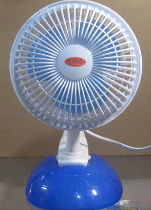 Вентилятор настольный с прищепкой Wimpex WX-605
