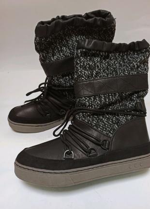 Сапоги anna field. брендове взуття stock