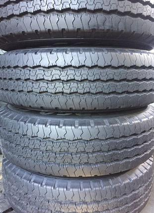 Комплект шин та дисків R16 на Mercedes 4шт б/у 6694000002