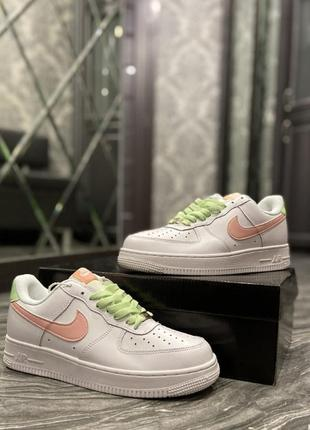 🔥 nike air force 1 low white pink