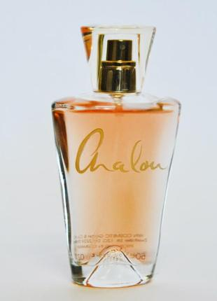 Парфюмированная вода женская chalou gold 50ml