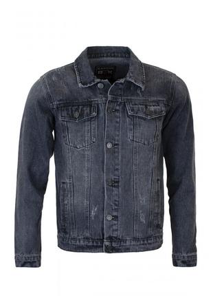 Мужская джинсовая куртка большой размер.