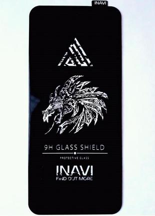 Защитное стекло  INAVI PREMIUM Xiaomi Redmi 9A 9С черный