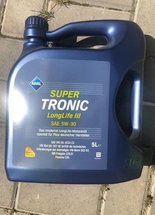 Моторное масло Aral supertronic LongLife III sae 5w-30