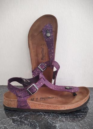 Женские босоножки сандалии Papillio Birkenstock большого размера