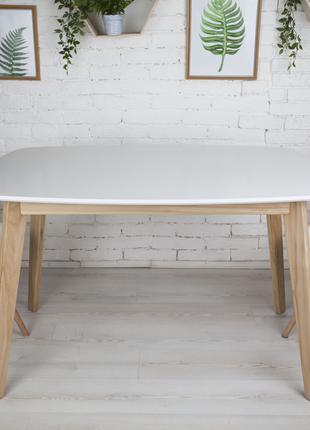 Обеденный стол Винцензо 120 белый