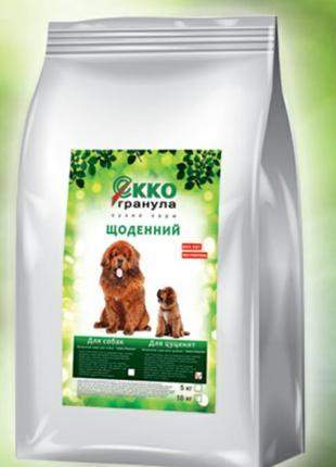"""Сухой Корм для собак(щенков): Екко Гранула(""""Экко-Гранула"""" Украина"""