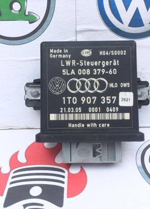 1T0907357 Блок коректора фар Touran Skoda Octavia A5 Golf