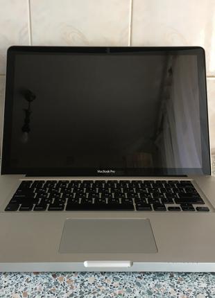 Macbook Pro Early 2011, 15, SSD 256.