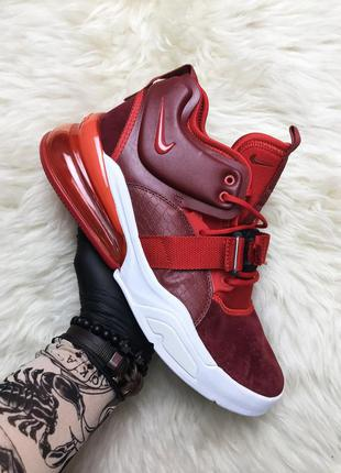 🔥nike air force 270 red