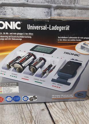 Универсальное зарядное устройство для аккумуляторов Tronic