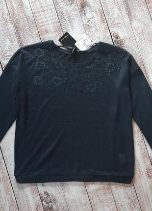 Стильная кофта, джемпер, пуловер, свитшот, m 40-42 euro, takko...