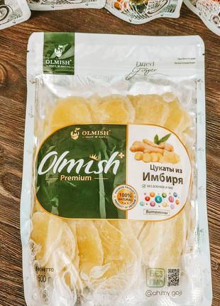 Имбирь с сахаром Olmish